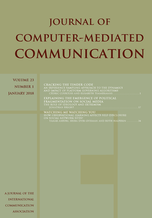Journal of Computer-Mediated Communication (JCMC)