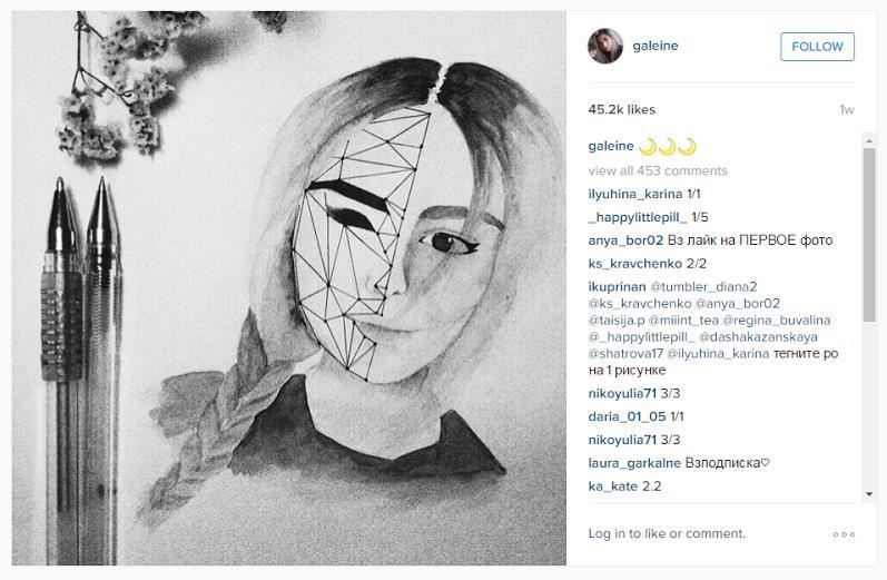 Функционирование эмодзи в тексте. На материале социальной сети Instagram. Пример 24.